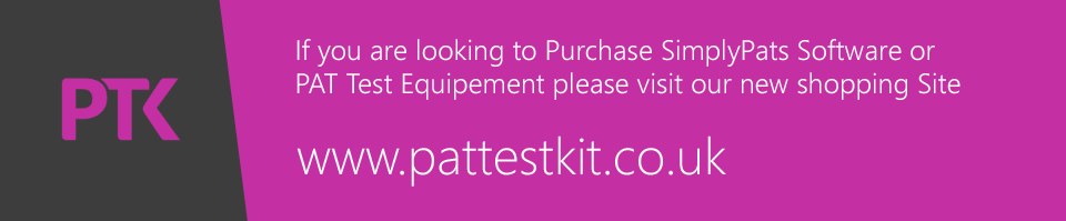 Welcome to the SimplyPats Shop where you can purchase PAT software and PAT Accessories