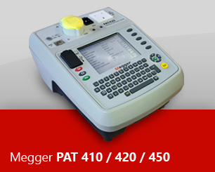 PAT Testing Software for your Megger PAT 410, 420 or 450