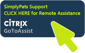 SimplyPats Support - Remote Assistance